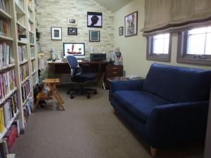 わが書斎にソファが