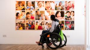 世界の障害のある子どもたちの写真展